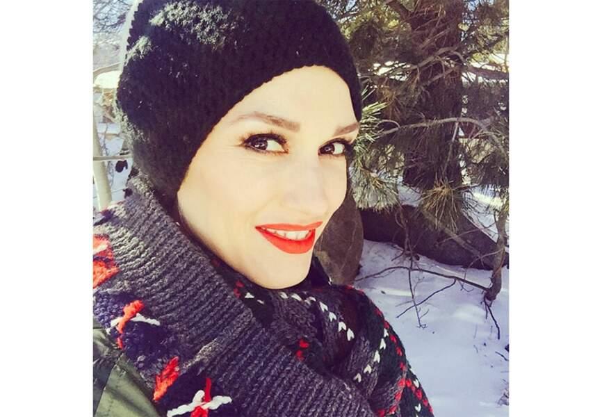 Gwen Stefani à Mommuth Lake