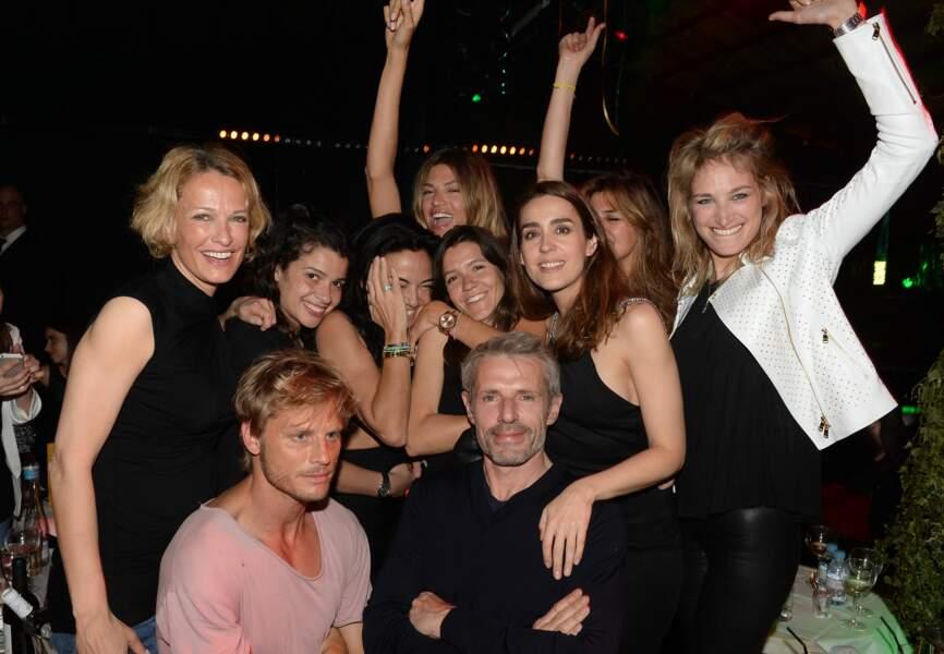Sandra Zeitoun de Matteis était à la fête à L'ARC