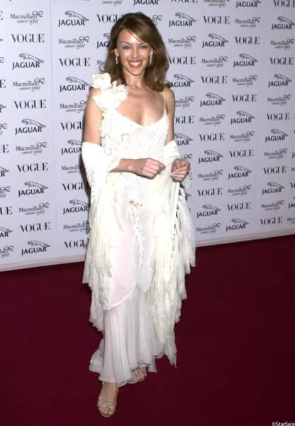 Soirée Vogue/Jaguar en 2001