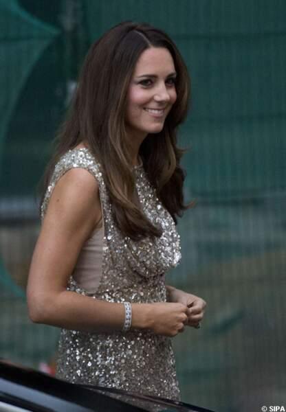 Kate était magnifique dans sa robe