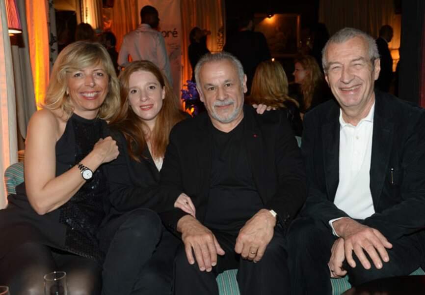 Réjane Lacoste, Gersende Perrin, Francis Perrin, Michel Lacoste