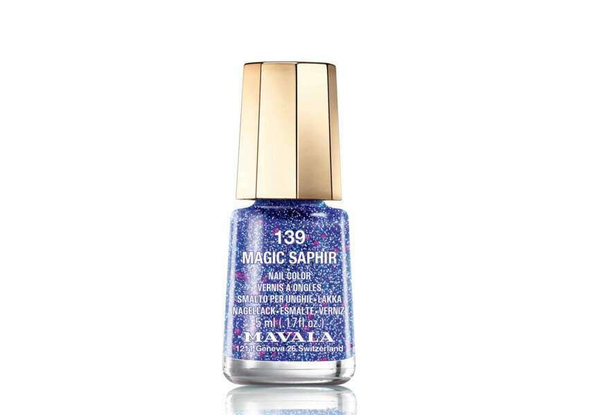 Mavala, Vernis Magic Stardust Magic Saphir, 5,40€