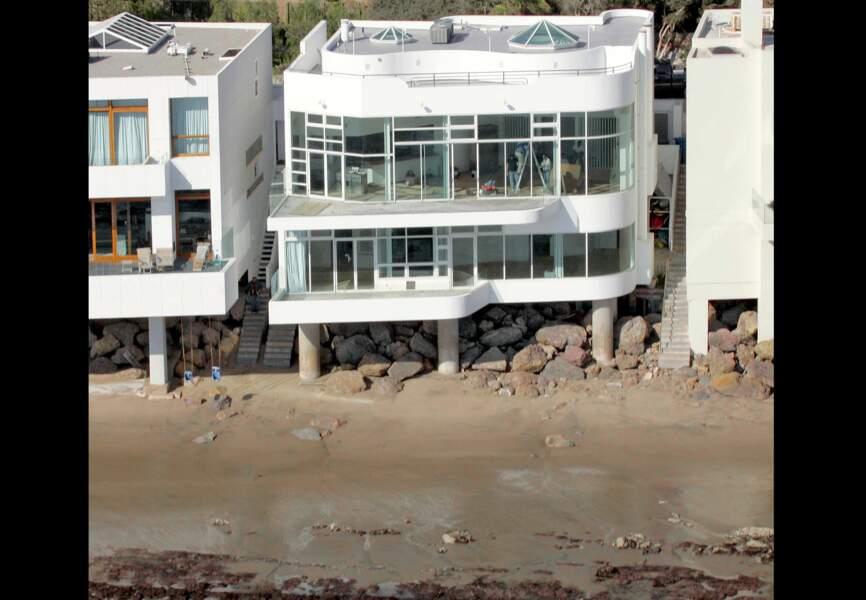 Hale Berry et sa résidence secondaire à Malibu