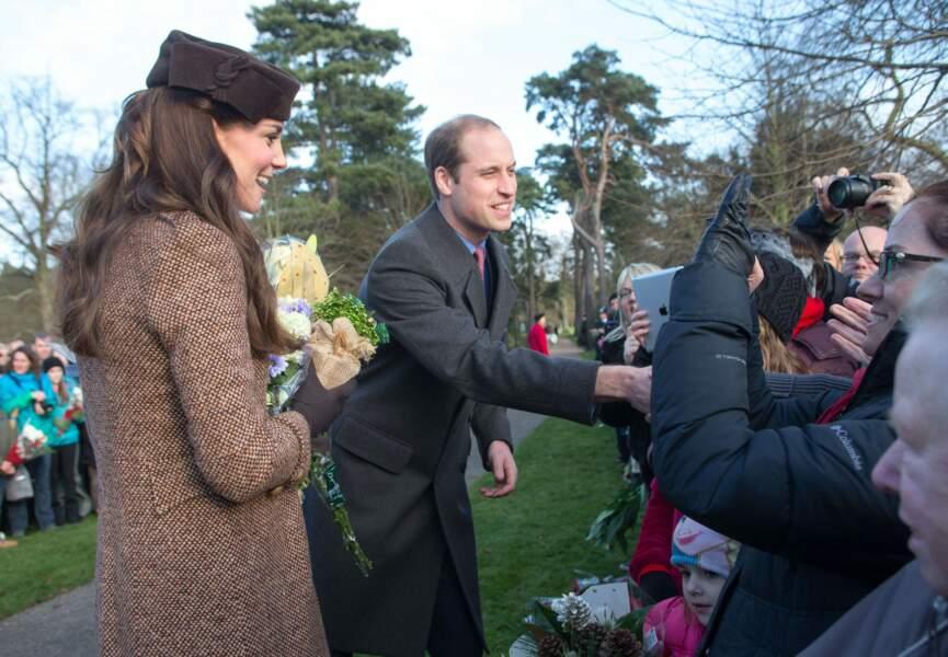 Kate et William à la rencontre des Britanniques