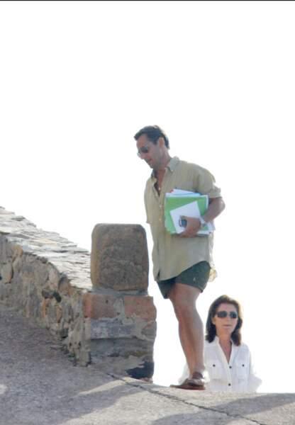 Nicolas Sarkozy ne garde pas un bon souvenir de l'été passé avec son épouse Cécilia dans le fort