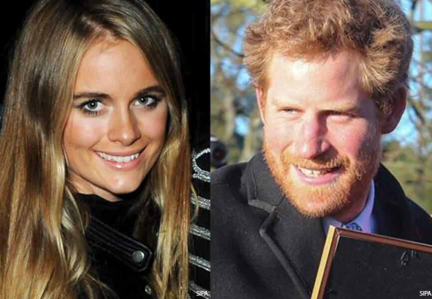 Le prince Harry de Galles et sa girlfriend Cressida Bonas... Rien n'est sûr