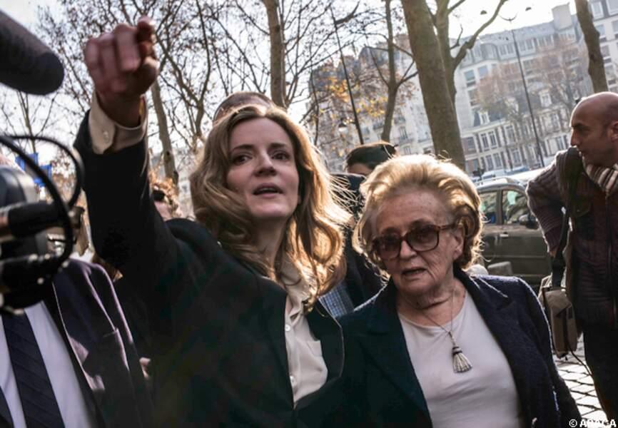 NKM et Bernadette Chirac battent le pavé parisien