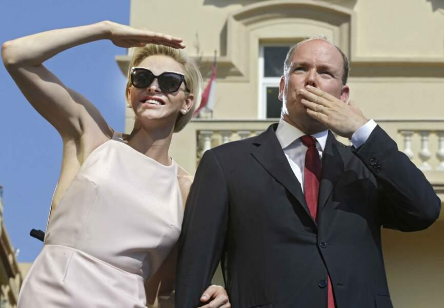 Il a rencontré les Monégasques samedi après-midi sur la Place du Palais Princier
