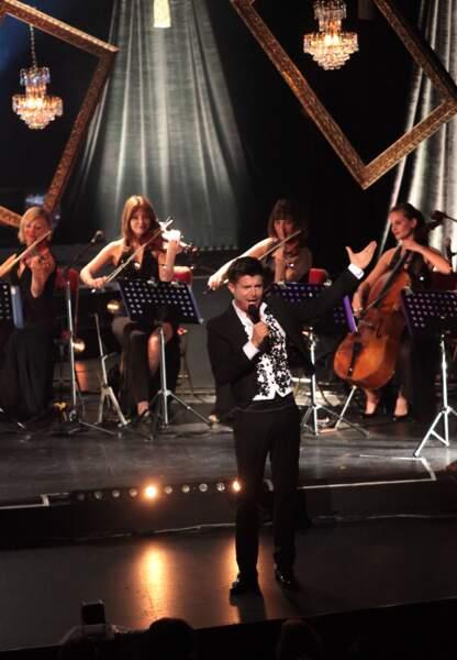 Samedi 24 mai, Vincent Niclo était au théâtre du Châtelet pour son premier concert parisien.