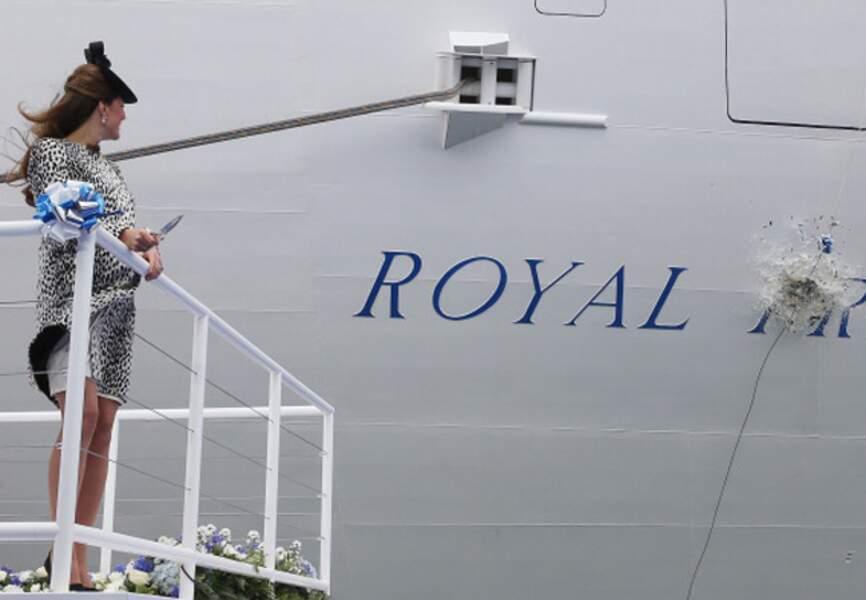 La duchesse a accompli sa mission devant des milliers de fans déchaînés