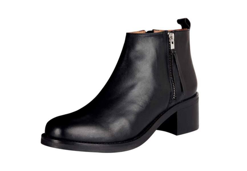 Urban Outfitters – Bottines zippées – 98€