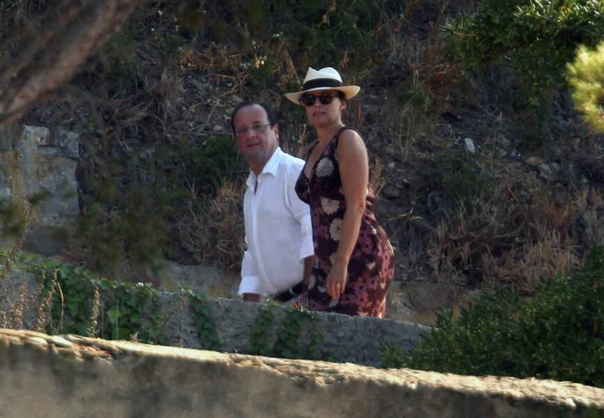 L'actuel président n'y a passé que quelques jours, tendus, avec Valérie Trierweiler, en août 2012