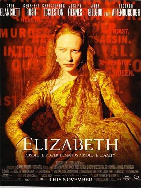 Elizabeth de Shekhar Kapur en 1998