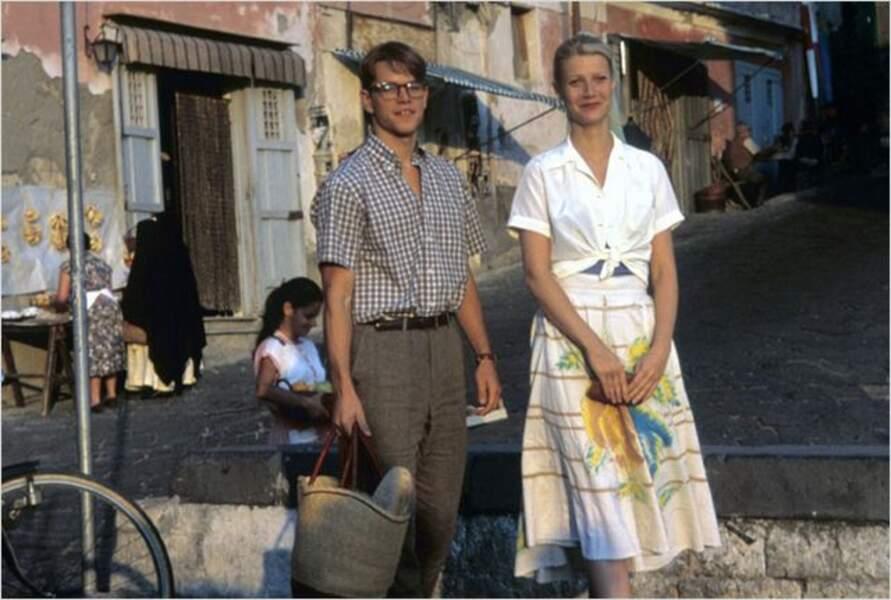Cate Blanchett avec Matt Damon dans Le Talentueux Monsieur Ripley