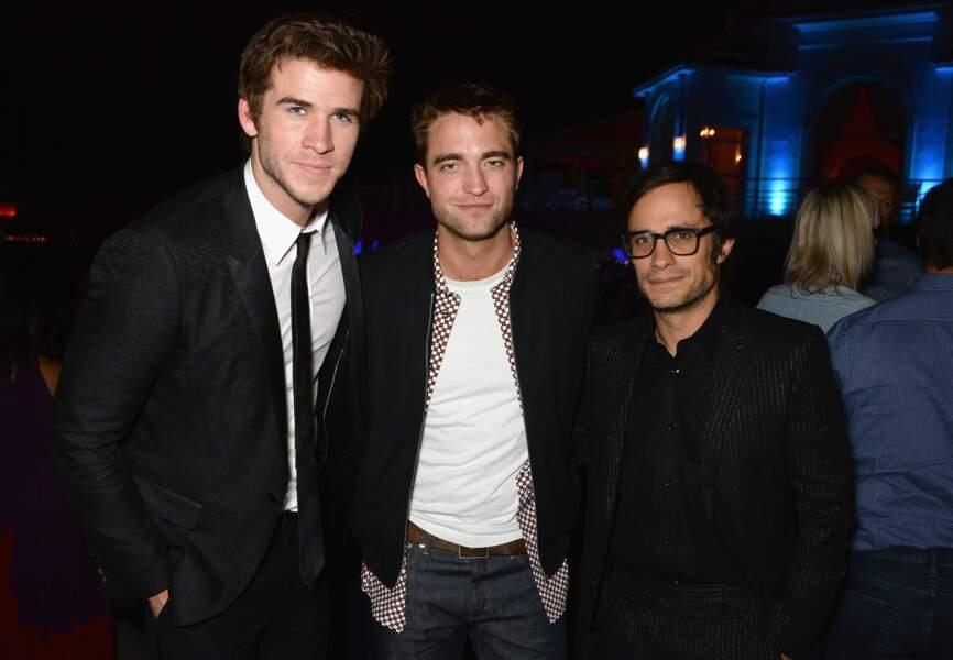 Robert Pattinson, Liam Hemsworth et Gabriel Gael Bernal