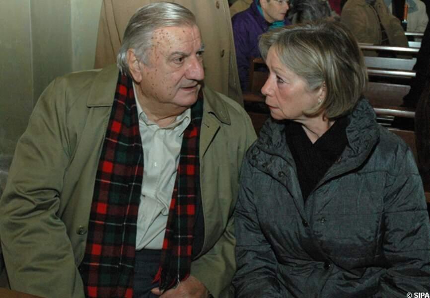Aldo Maccione et son épouse