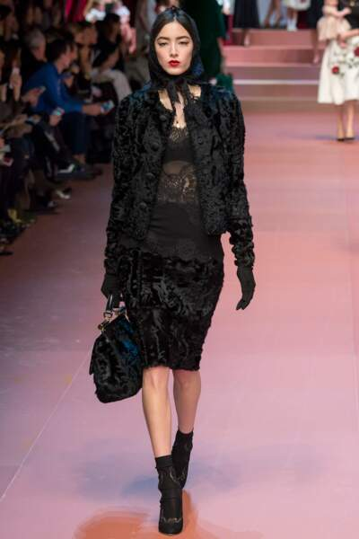 Dolce&Gabbana automne-hiver 2015-2016