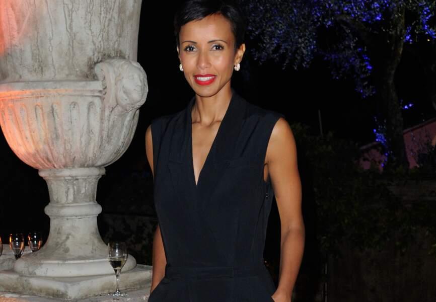 Sonia Rolland à la soirée Canal +