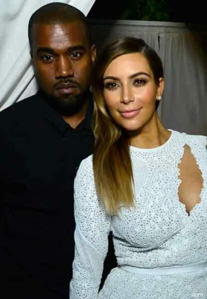 Kanye West et Kim Kardashian, si mariage il y a, ce sera au château de Versailles.