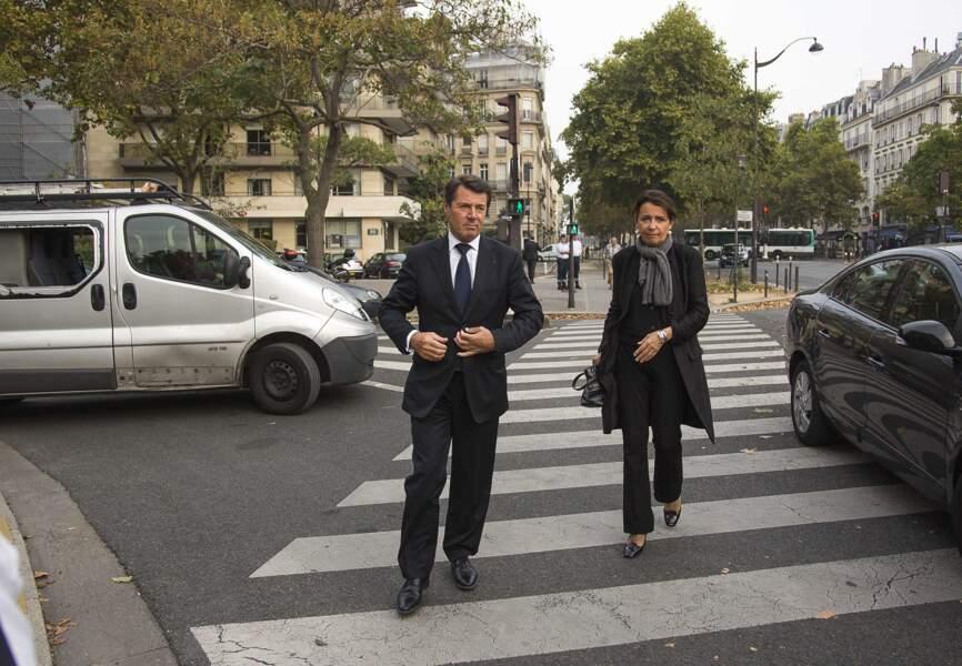 Christian Estrosi et son épouse