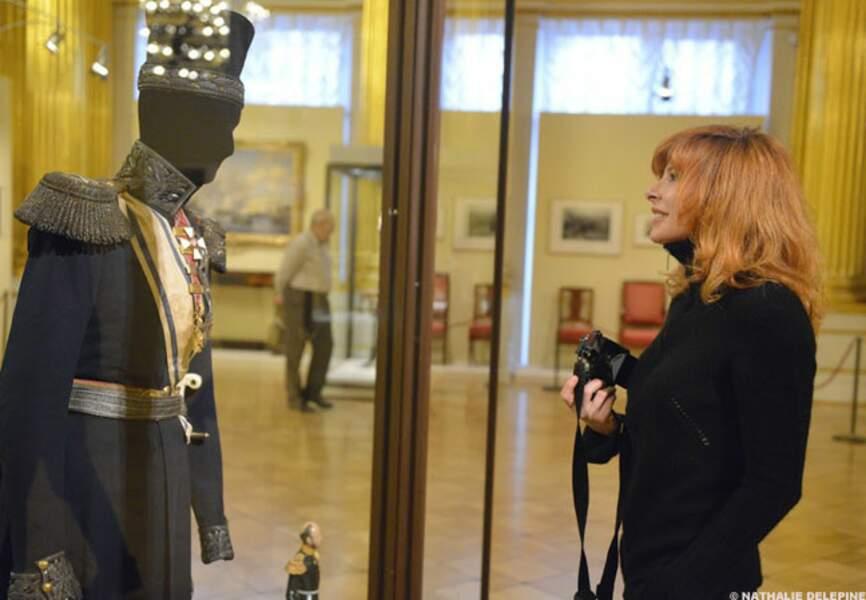 Moment de détente au musée de l'Ermitage à St-Pétersbourg