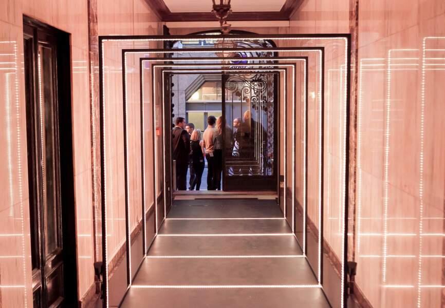 La soirée avait lieu dans un Hôtel Particulier situé 22 rue de la Michodière