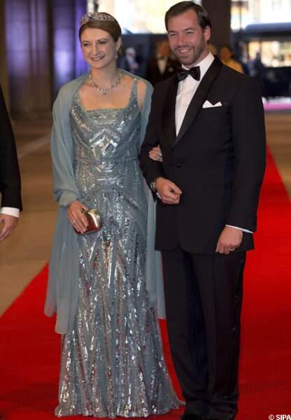 Stéphanie et Guillaume de Luxembourg