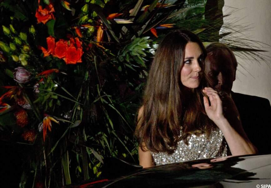 La princesse Kate, fleur parmi les fleurs