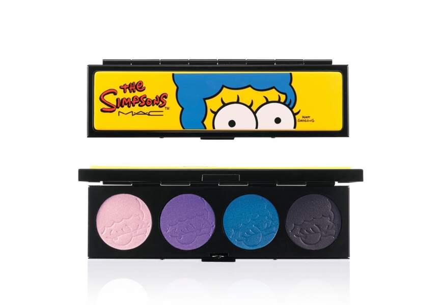 The Simpson's par M.A.C., Quatuor de fards à paupières, 42€