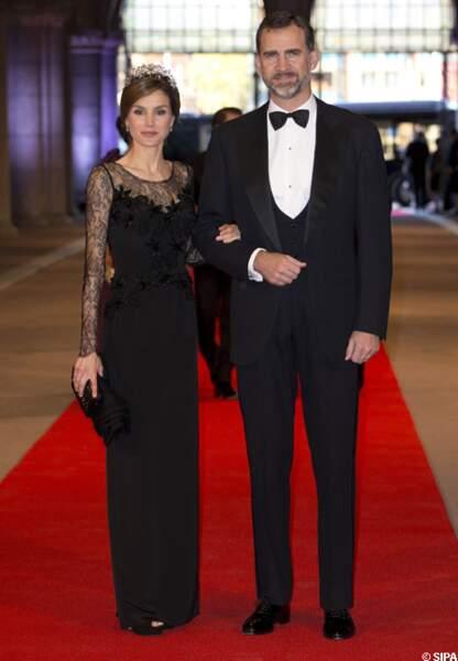 Letizia et Felipe d'Espagne