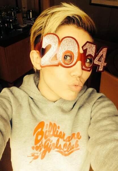 Quelle version de Miley Cyrus en 2014?