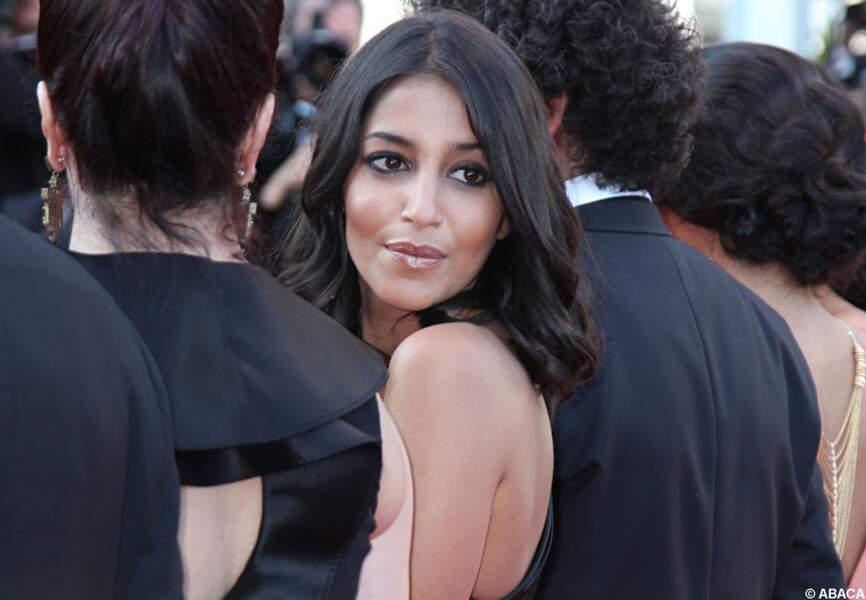 Leila Bekhti glamour à Cannes en 2011