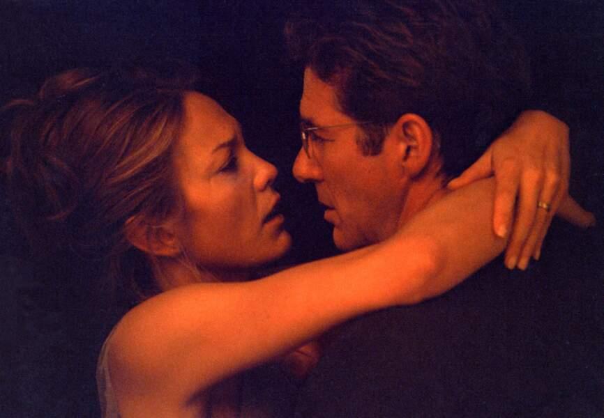 Duo torride avec la sexy Diane Lane dans Infidèle en 2002