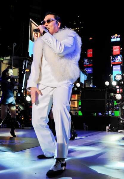 Psy à New York