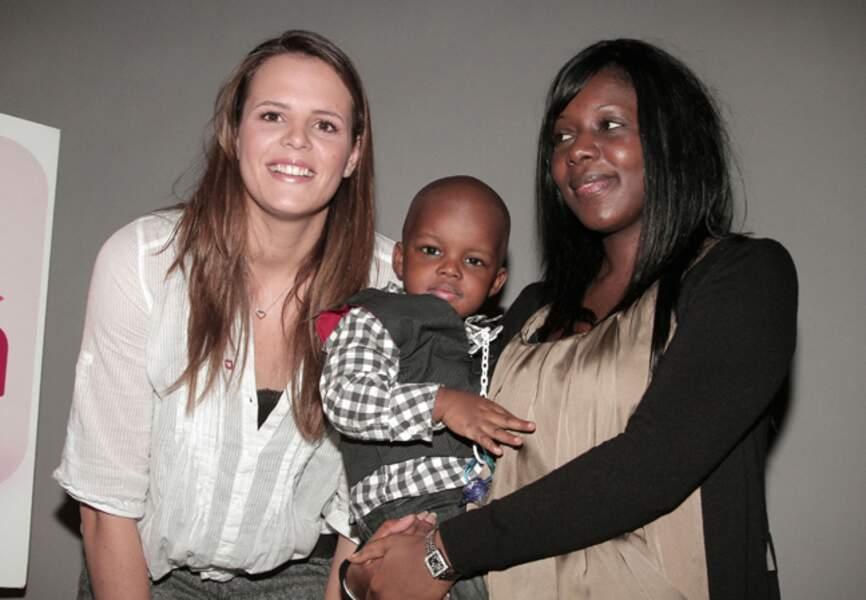 Janvier 2011, une marraine de charme pour l'élection du bébé Cadum