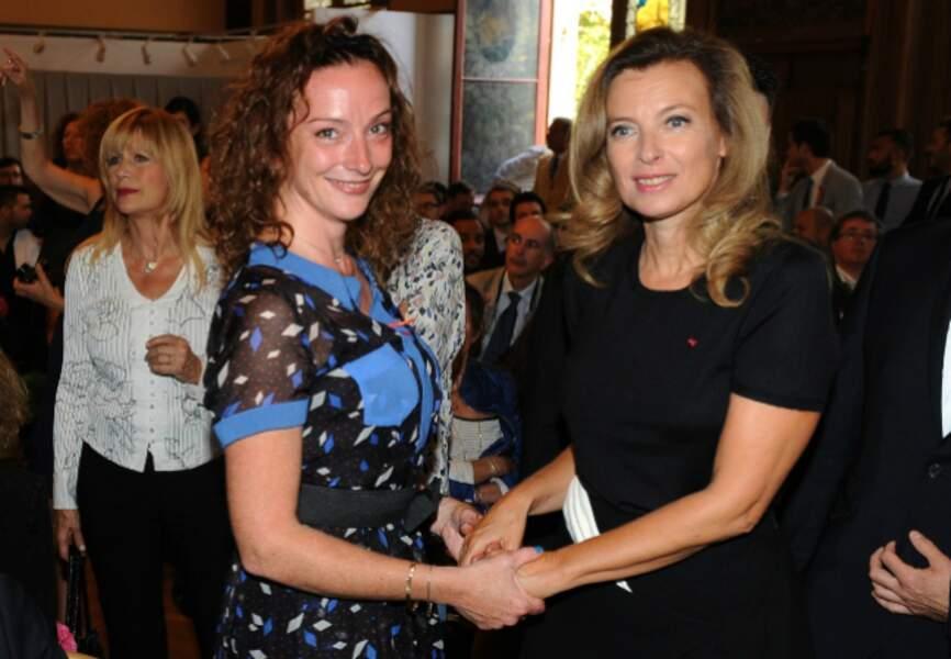 Florence Cassez et Valérie Trierweiler