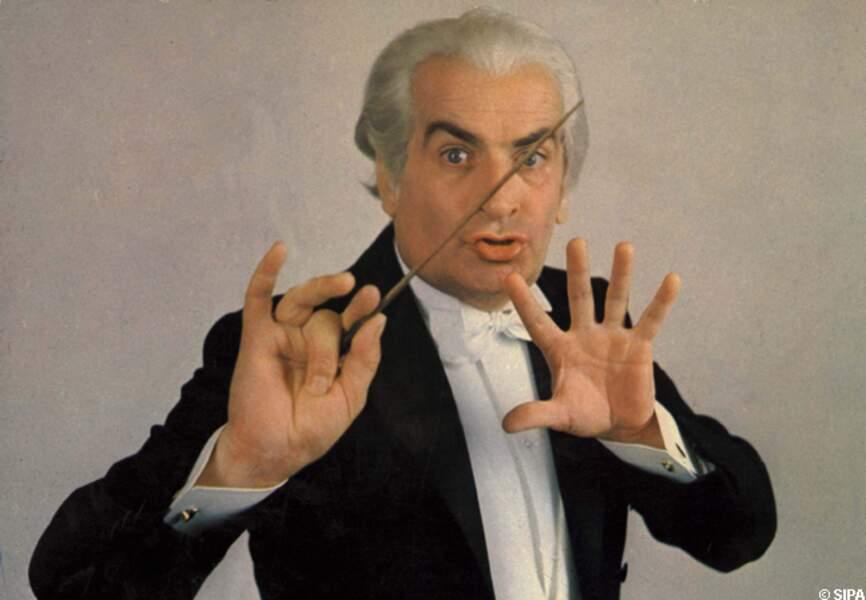 Louis de Funès, chef d'orchestre de La grande vadrouille