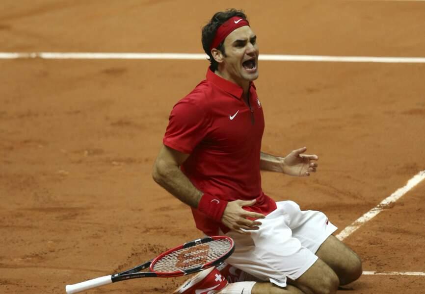 En finale, Roger Federer affrontait Richard Gasquet