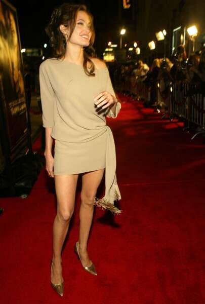 Petite robe pour dévoiler ses fines jambes