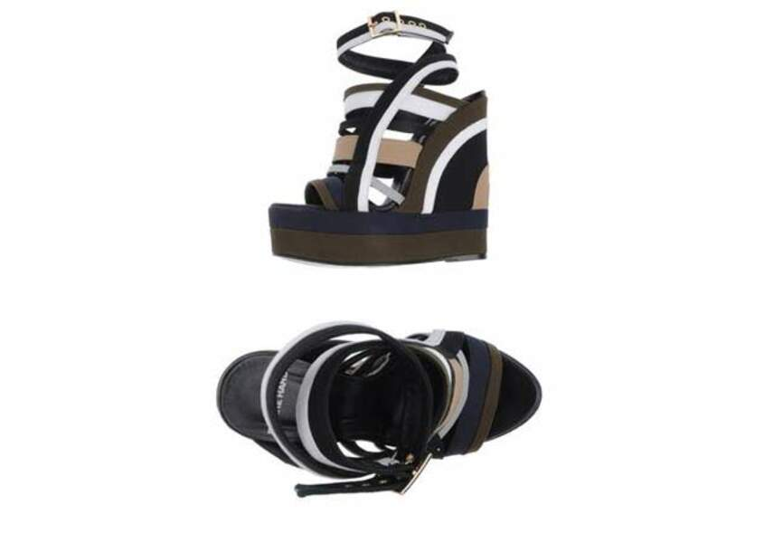 Pierre Hardy - Chaussures compensées - 250€