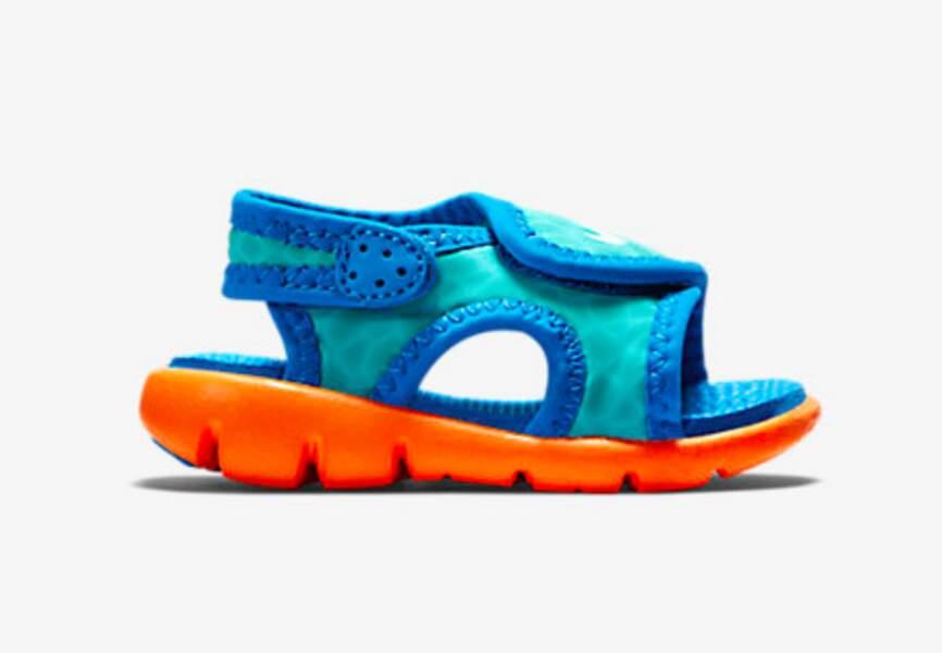 Nike, sandales garçon du 17 au 27, 17,99€