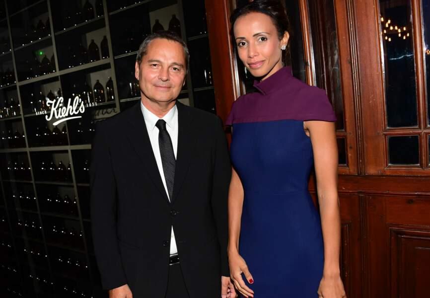 Bruno Barde, Directeur General du Festival du Cinéma Américain de Deauville et Sonia Rolland
