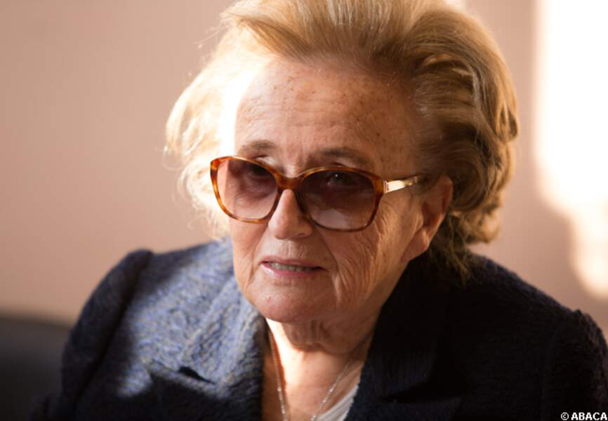 Bernadette Chirac en campagne
