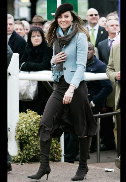 Mode preppy old-fashioned pour Kate Middleton