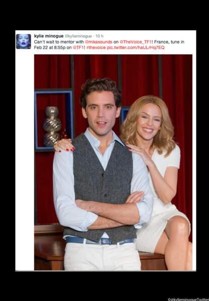 Tweet de Kylie Minogue pour Mika