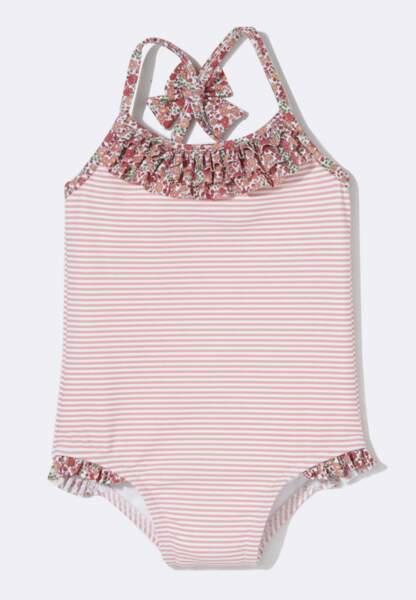 Cyrillus, maillot de bain fille du 3 au 36 mois, 14,94€
