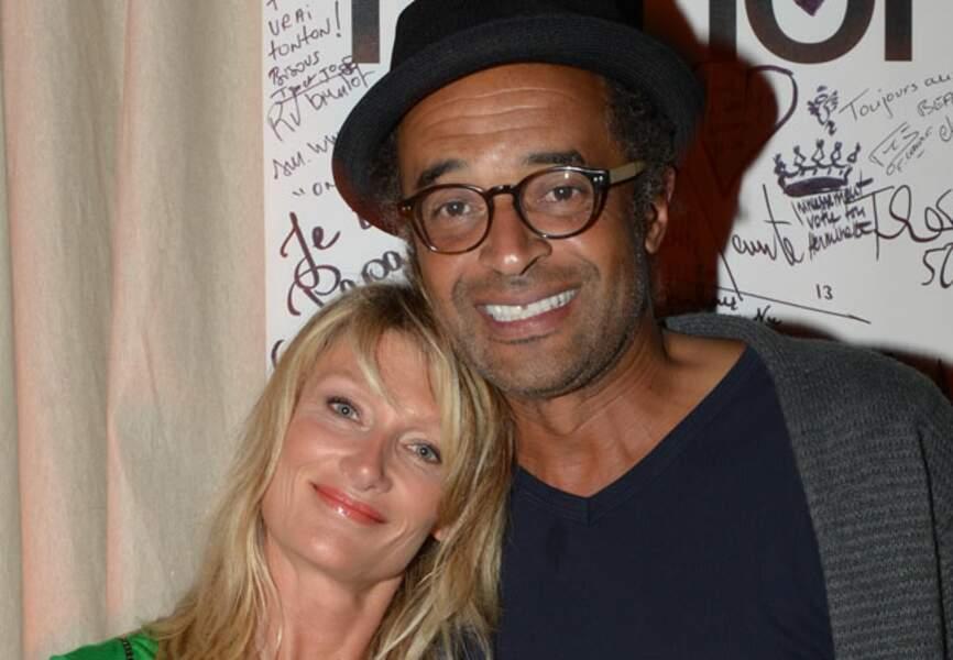 Isabelle Camus et Yannick Noah