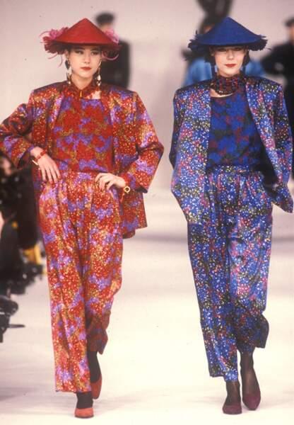 Chinoiseries et pyjamas en soie