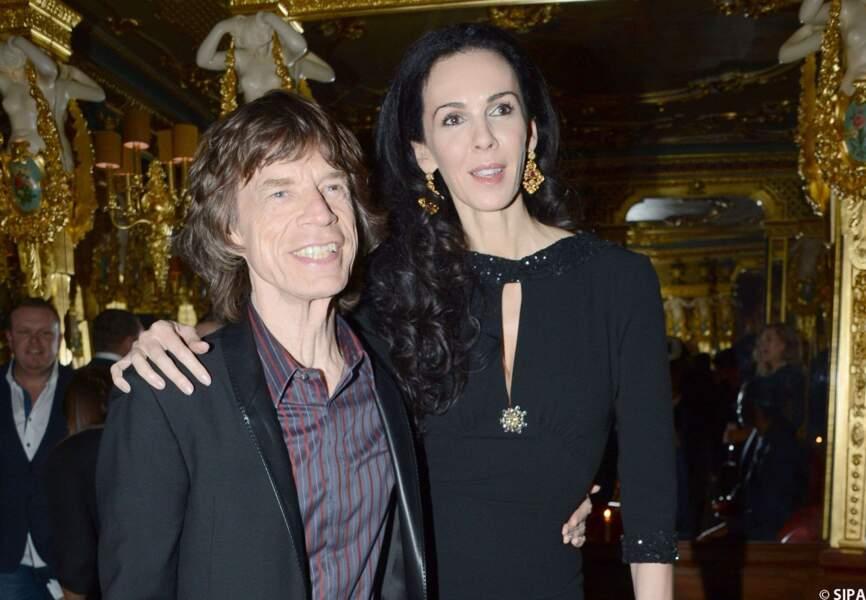 Mick Jagger et L'Wren Scott