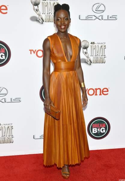 L'actrice kenyane Lupita Nyong'o